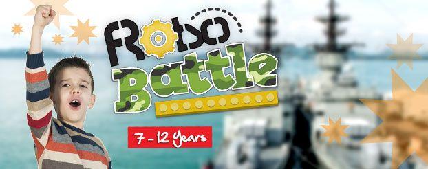 7-12 Years RoboBattle