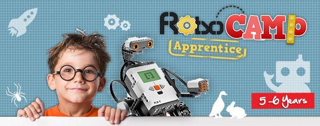 RoboCamp Apprentice 5-6 years